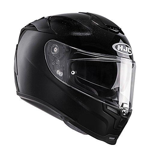 HJC RPHA 70 DVS Casco de Moto Integral Scooter Negro Brillante XS (53-54cm)