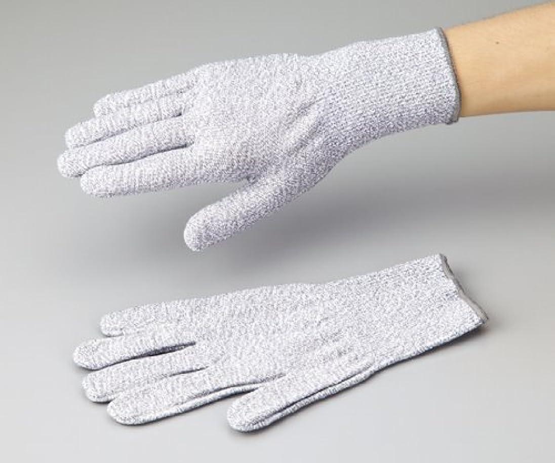 テーブルを設定する十分マルコポーロアズワン1-242-02アズセーフ耐切創手袋コーティング無しMカットレベル5