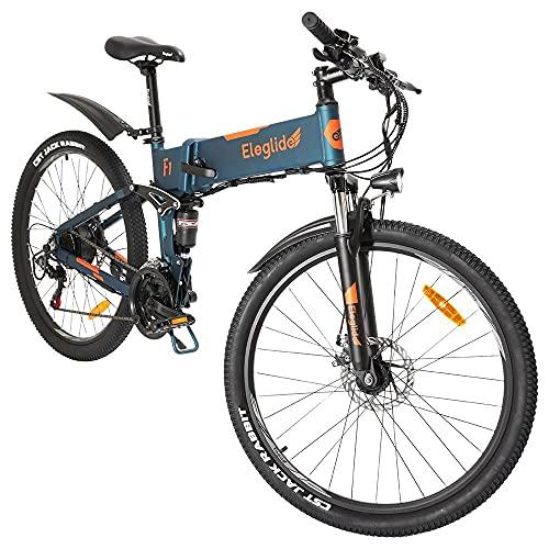 Bicicletas electricas Plegables Eleglide F1, Bicicleta de montaña, Bicicleta Adulto,Bicicletas Mujer montaña...