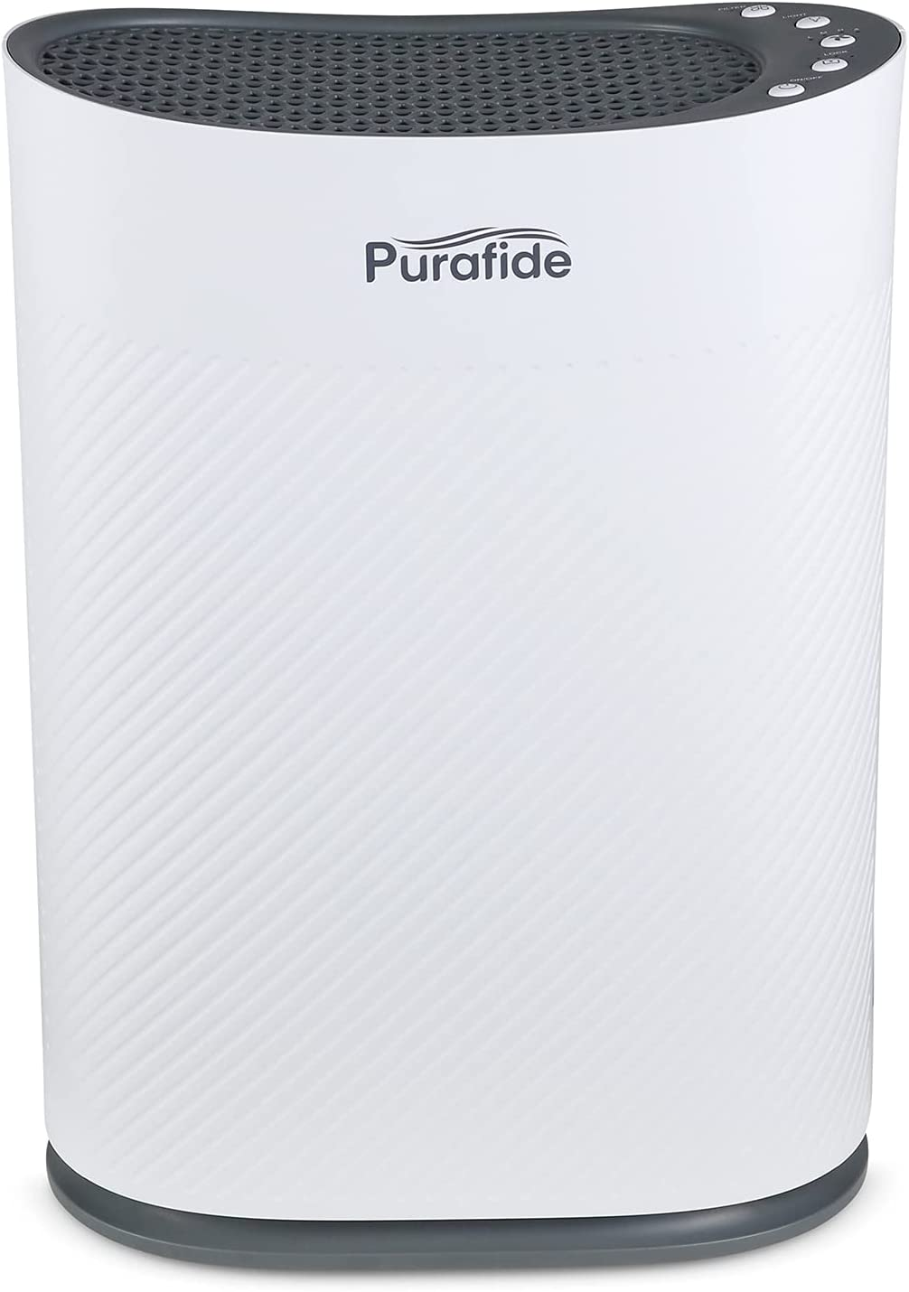 Purafide XP280 | 2-Year Filter Life | H13 HEPA Filter Air Purifier for 850 Sq Ft Coverage. Home, Bedroom, Allergies, Pets, Dust | US Veteran Owned & Operated - White, 1-Pack