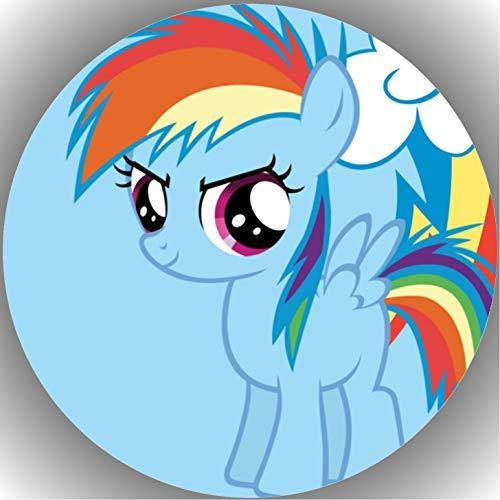 Fondant Tortenaufleger Tortenbild Geburtstag My Little Pony T8