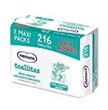 Nenuco Dermosenstive Toallitas para Bebé - Maxi Pack 216 unidades