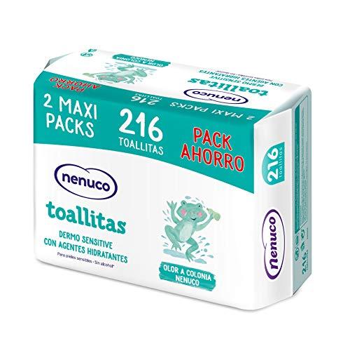 Nenuco Dermosenstive Toallitas para Bebé - Maxi Pack 216