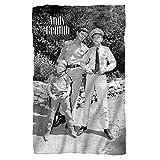 Andy Griffith Show 1960's Comedy Sitcom TV Series Lawmen Fleece Blanket