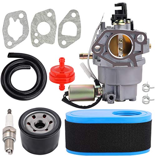 951-05149 Carburetor + Air Filter compatible with Cub Cad CC30 CC760ES Lawn Mower Troy Bilt TB30 TB30R TB42 Craftsman LT1500 R1000 RER1000 T1000 R1200 Columbia CLT38G CLT42G Oil Filter Tune Up Kits