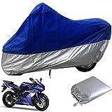 XBJSY - Cubierta universal para tienda de campaña impermeable para motocicleta, revestimiento de poliuretano, impermeable, para motocicleta, talla L XXXL GAOMBZ (tamaño: 3XL 295 x 110 x 140 cm)