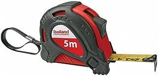 Toolland HRUT5PRO meetlint, 5000 mm lengte x 19 mm breedte