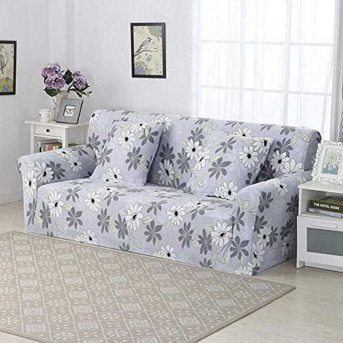 Fsogasilttlv Sofa Slipcover Non Slip Furniture Protector 4 Seater,Sofa Cover Stretch Printed Elastic Couch Cover, Corner Sectional Slipcover Chair For The Bedroom A 235-300cm(1pcs)