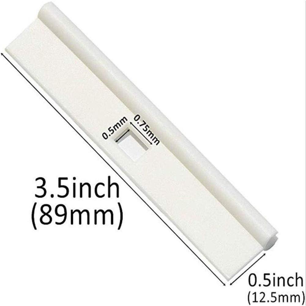 Vertical Curtain 89mm Simple Hanging Film 12 Pcs XFentech Vertical Blind Top Hanger