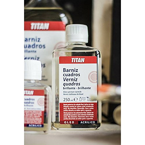 TITAN - BARNIZ CUADROS 1L