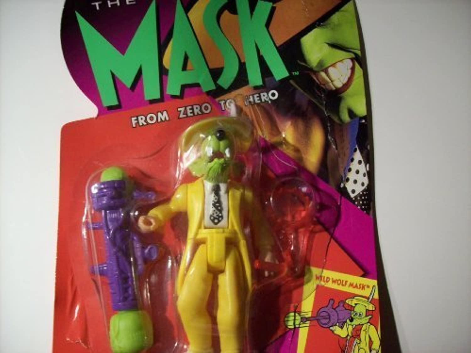 Wild Wolf Mask Action Figure From the Mask Movie by Kenner