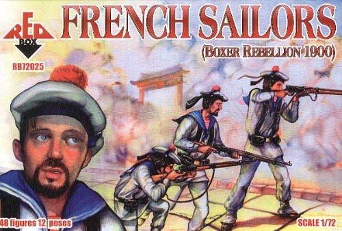 Red Box RB72025 - French Sailors, Boxer Rebellion 1900, Plastikmodellbau