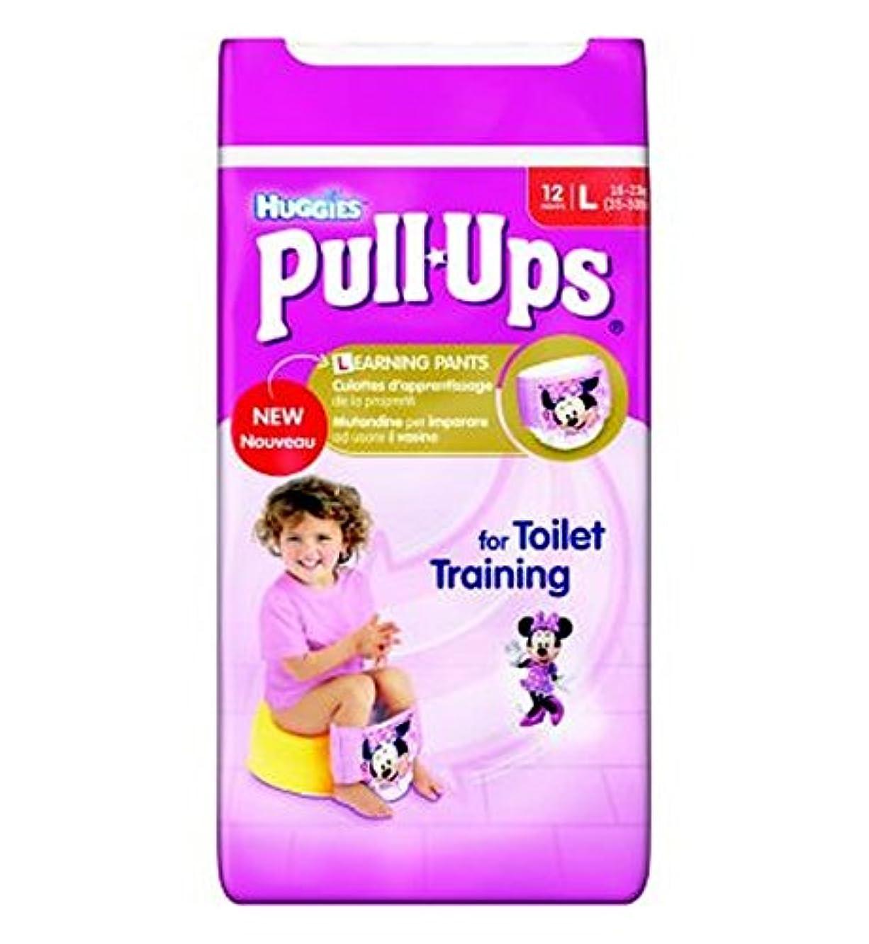 マイルド障害者八百屋さんHuggies?プルUps?ディズニー?プリンセスの女の子サイズ6トイレトレーニングパンツ - 1×12パンツを (Huggies) (x2) - Huggies? Pull-Ups? Disney Princesses Girl Size 6 Potty Training Pants - 1 x 12 Pants (Pack of 2) [並行輸入品]