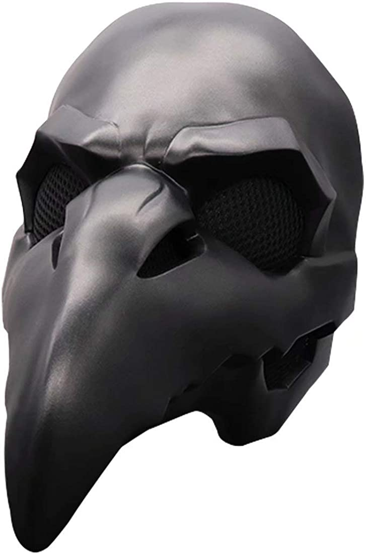 LED Light Up Plague New sales Doctor Mask + Latex 2021 spring and summer new Glow the in PVC Cloak