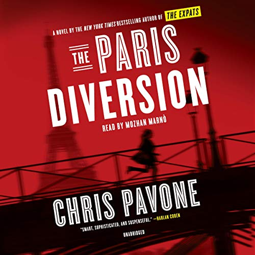 The Paris Diversion audiobook cover art