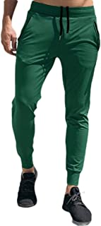 GAGA Men Fashion Capris Jogger Pants Fitness Athletic Track Shorts Sweatpant