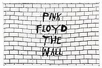 サンシャインJoyピンクフロイドThe WallタペストリーIconic壁アート大きな53x 82インチ