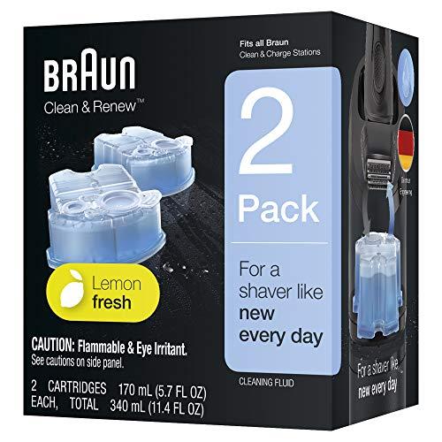 Braun Clean & Renew Refill Cartridges CCR - 2 Count