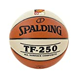 Spalding Basketball TF250 DBB In/out 74-593z, Orange, 6, 3001504010416 by Spalding