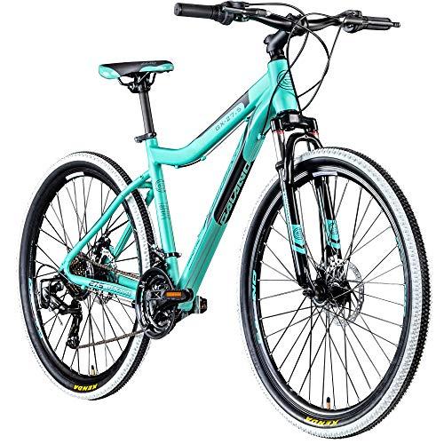 Galano Mountainbike 650B Hardtail Fahrrad MTB GX-27,5 Bike 27,5 Zoll 21 Gang (türkis, 45 cm)