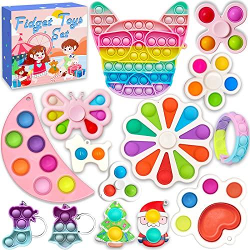 HOOLYUK Simple Dimple Pack, Fidget Toys Set,...