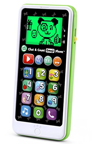 LeapFrog Chat and Count Emoji Phone, White