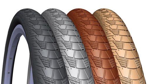 Mitas Fahrrad Reifen Cityhopper V99 // alle Größen + Farben, Ausführung:schwarz, Drahtreifen, Dimension:52-559 (26×2,10´´)