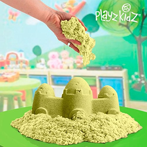 Genérico - Arena moldeable para niños Playz Kidz