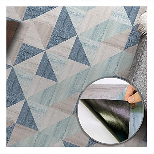 Triángulo autoadhesivo adhesivo para baldosas de suelo, zócalo de fácil limpieza resistente al agua a prueba de aceite utilizado para el suelo de la sala de estar de 3 m de largo。