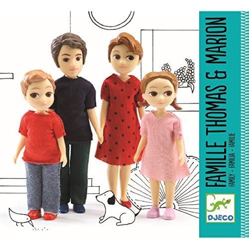 Djeco  - Casa de muñecas la Familia de Thomas & Marion