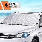 Protezione Parabrezza MATCC Telo Parabrezza Auto Copertura Parasole Invernale Antineve Antighiaccio e Anti UV per Parabrezza