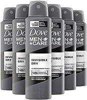 Dove Men+Care Invisible Dry Anti-Transpirant Spray 6 x 150 ml - Voordeelverpakking
