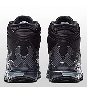 La Sportiva Mens Ultra Raptor II Mid GTX Hiking Shoe, Black/Clay, 13.5