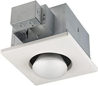 Broan-Nutone  161  Bulb Heater, Energy-Saving Single Bulb Infrared Type non-IC Ceiling Heater, White, 250-Watt