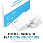 Corona Virus protection products Maxboost PM2.5 Filter Pad Activated Carbon Filter, Pack of 30, Mouth Protective Mask