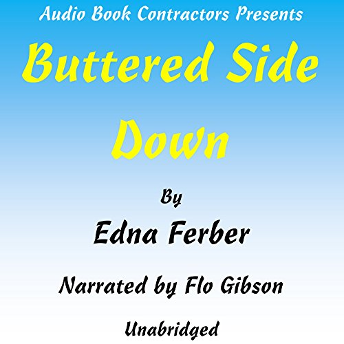 Buttered Side Down audiobook cover art