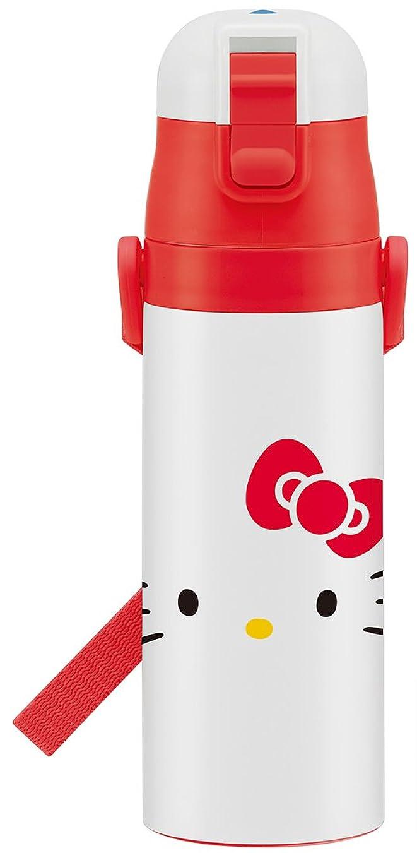うつ兵器庫後世スケーター 子供用 直飲み ステンレス水筒 470ml ハローキティ フェイス サンリオ SDC4