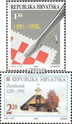 Chorwacja 389,390 (pe?ne.Kwestia.) 1996 Specjalne znaczki (Znaczki dla kolekcjonerów)
