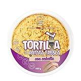 AL PUNTO tortilla de patatas fresca con cebolla envase 600 gr