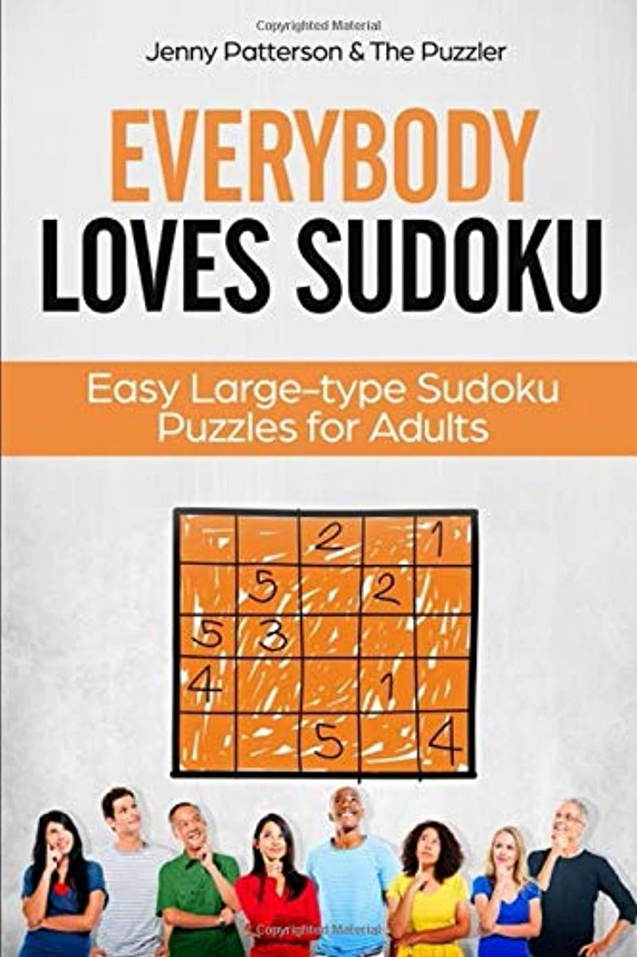 粘着性日の出居眠りするEVERYBODY LOVES SUDOKU: EASY LARGE-TYPE SUDOKU PUZZLES FOR ADULTS (Word Puzzle)