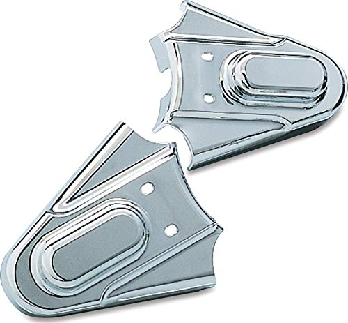 Kuryakyn 8200 Motorcycle Accent Accessory: Rear Axle Phantom Covers for 1986-2007 Harley-Davidson Softail Motorcycles, Chrome