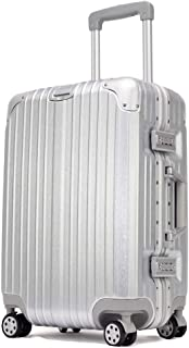 TRUNKTRAVEL スーツケース 機内持込 S M L アルミフレーム TSAロック 軽量 キャリーケース 日本語取扱説明書付き