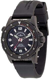 Zeno - Watch Reloj Mujer - Professional Diver Automática Black&Red - 6427-bk-s1-7