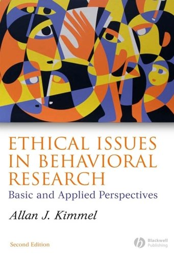 Ethical Issues in Behavioral Research: Basic and Applied Perspectives