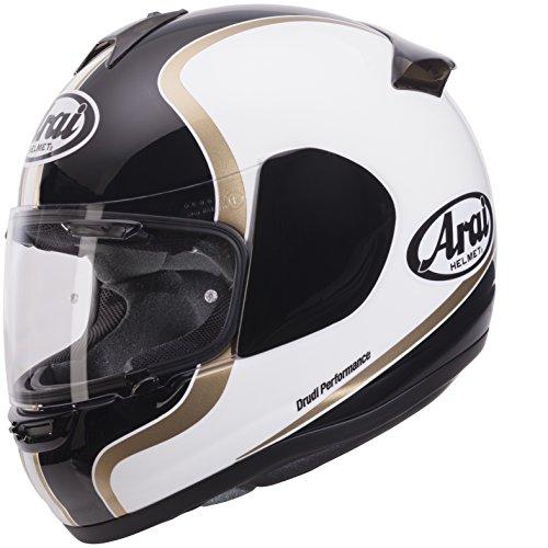 Arai Axces III 3 Sports Full Face Motorcycle Motorbike Helmet Dual Black Medium