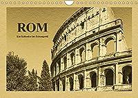 Rom-Ein Kalender im Zeitungsstil (Wandkalender 2022 DIN A4 quer): Ein Spaziergang durch die historische Altstadt der italienischen Hauptstadt Rom (Monatskalender, 14 Seiten )