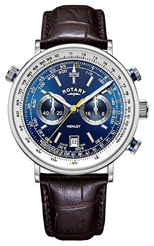 Rotary GS05235/05 Henley Chronograph Herren 42mm 5ATM