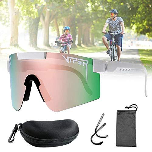 Gafas de sol Pit-Viper, Gafas de sol originales, Gafas deportivas al aire libre, Gafas de sol de ciclismo a prueba de viento, Protección ocular con montura Tr90 UV400, para mujeres y hombres,C03