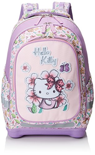 Target Hello Kitty Pencil Case Zaino, 45 cm, Viola (Purple/White)