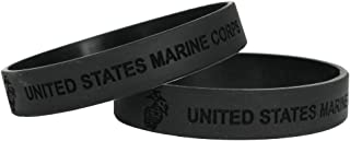marine corps rubber bracelets